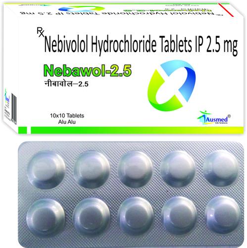 Nebivolol Hydrochloride Ip Eq. To Nebivolol 2.5 Mg/nebawol-2.5