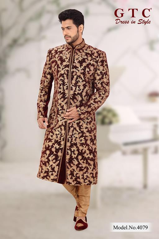 4079 Exclusive Sherwani