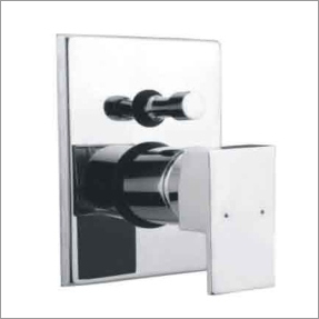 Square Single Lever Diverter 3 inlet