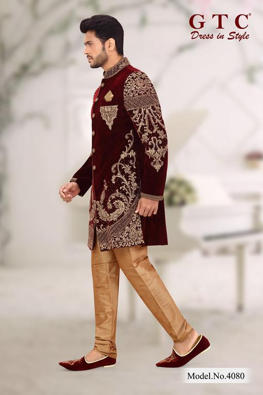 4080 EXCLUSIVE SHERWANI