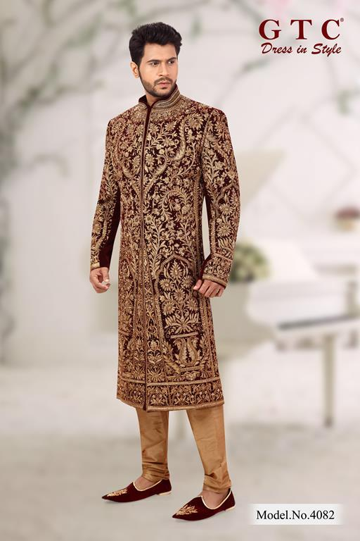 4082 EXCLUSIVE SHERWANI
