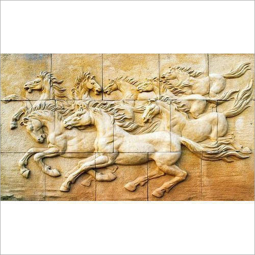 Decorative FRP Wall Mural