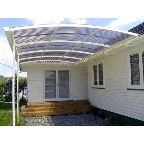 Polycarbonate Door Awning
