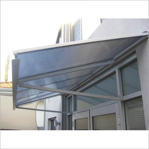 3 MM Polycarbonate Awning