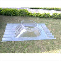 Polycarbonate Base Plate Turbo Air Ventilator