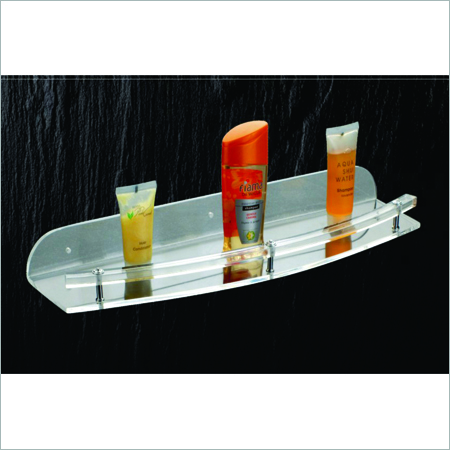 Acrylic Bathroom Shelves