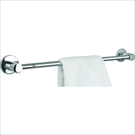 Brass CP Towel Rod