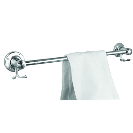 S.S. Hook Towel Rod