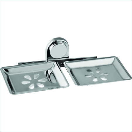 ss chrome double Soap Dish