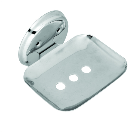 SS Square Soap Dish
