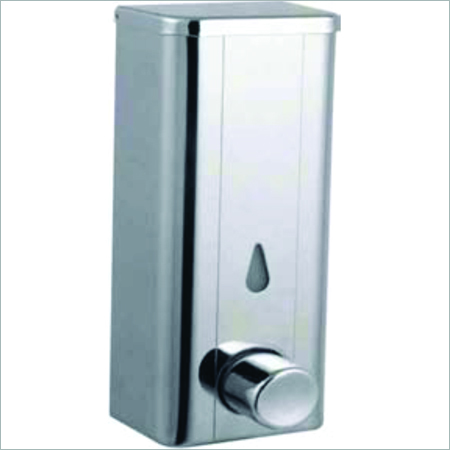 Stainless steel liquid soap container