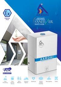 Automatic Contactless Sanitizer Dispenser