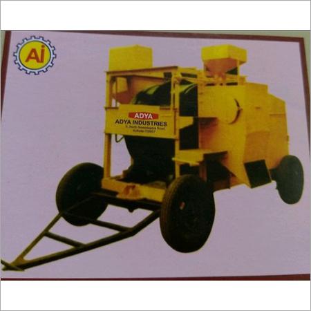Single Drum Asphalt Mixer Machine