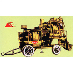Mobile Mini Hot-mix-plant (separate Drum Type)