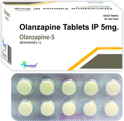 Olanzapine Ip 5mg / Olanzapine-10.