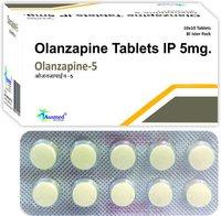 Olanzapine Ip 5mg / Olanzapine-10.
