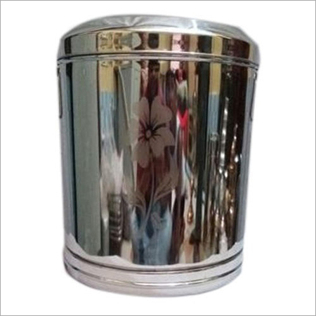 Plain Steel Dustbin