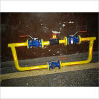Seismic Shut off valve with by pass system