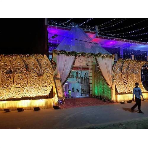 Modern Wedding Gate