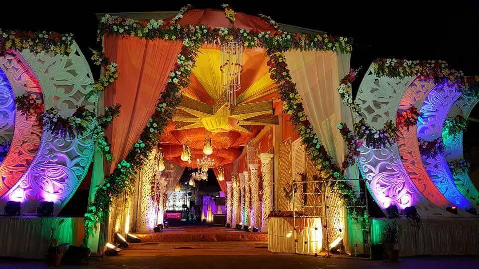 Modern Wedding Gate