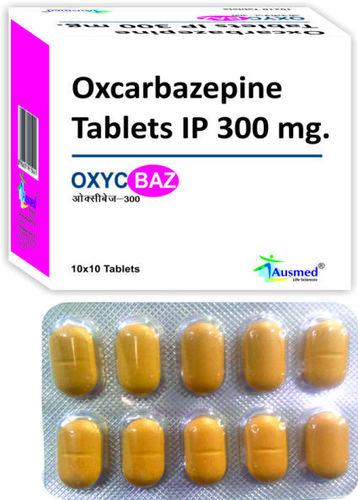 Oxcarbazepine Ip  300mg./oxycbaz-300.
