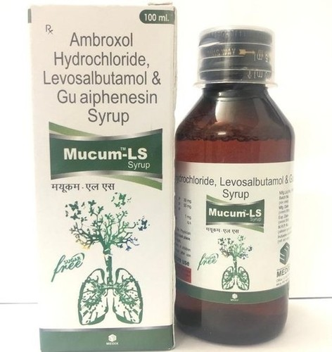 Ambroxol, Levosalbutamol And Guaiphenesin Syrup