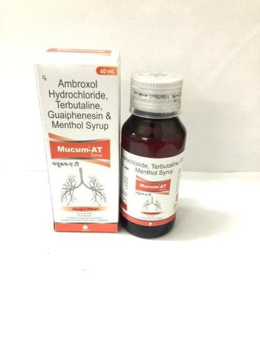 Ambroxol, Terbutaline, Guaiphenesin & Menthol Syrup