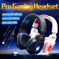 G4000 Usb Stereo Gaming Headphone Headset Headband With Microphone