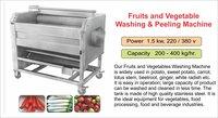 Potato Washing and Peeling Machine / Washing and Peeling for Potato,Ginger,Carrot,Beetroot,Turmeric