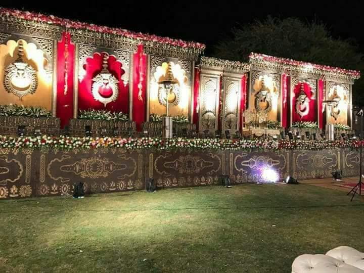 Artistic Wedding Stage