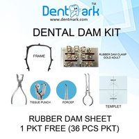 Combo Dental Rubber Dam Kit