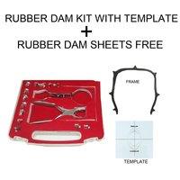 Dentmark Dental Rubber Dam Kit With Template