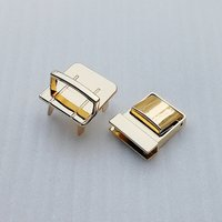 27.5*25mm New Metal Alloy Metal Twist Turn Bag Lock for Handbags/Wallet/Garment Accessories (HD259-19)