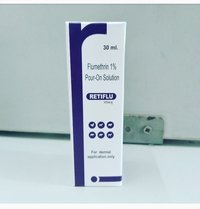 Flumethrin 1% Pour-on Solution ( Retiflu) 50ml