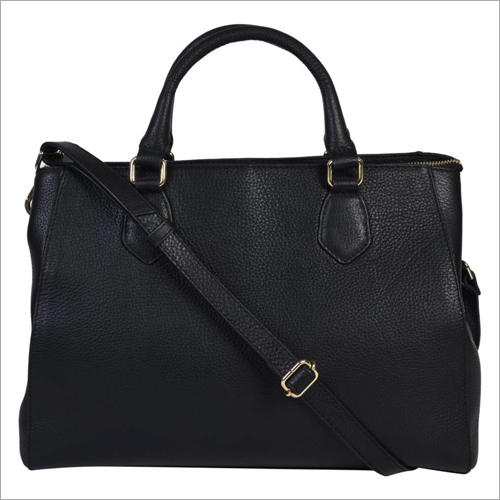 Ladies Black Leather Handbags