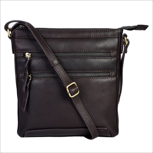 Brown Leather Ladies Handbags