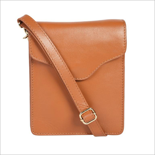 Ladies Tan Leather Handbags