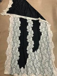 Lace decorated Cashmere Scarf & Shawls