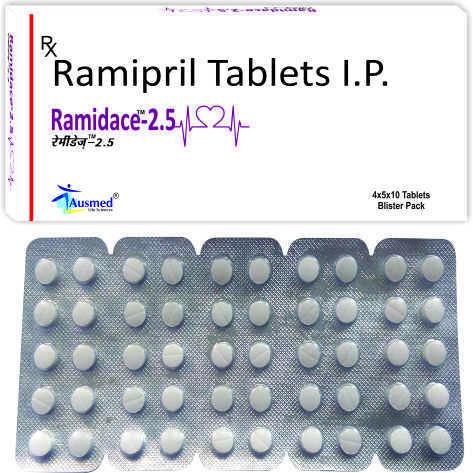 Ramipril Ip 2.5mg/ramidace-2.5