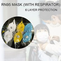 RN95 MASK (WITH RESPIRATOR) 6 LAYER