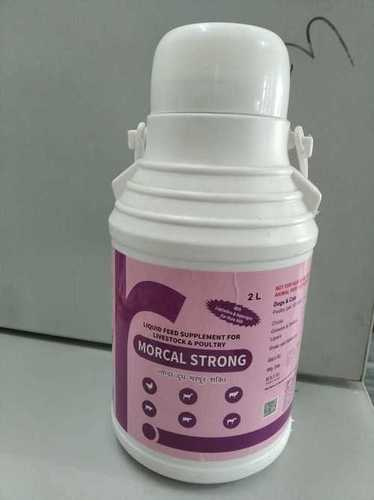 Liquid Feed Supplement For Livestock & Poultry ( Morcal Strong ) 2l