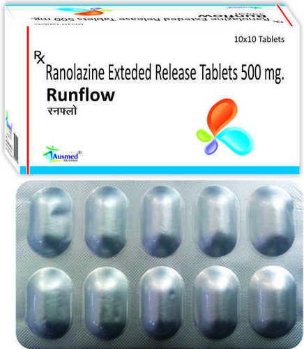 Ranolazine 500 Mg./runflow