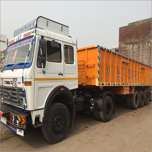 Semi Low Bed Truck Trailer