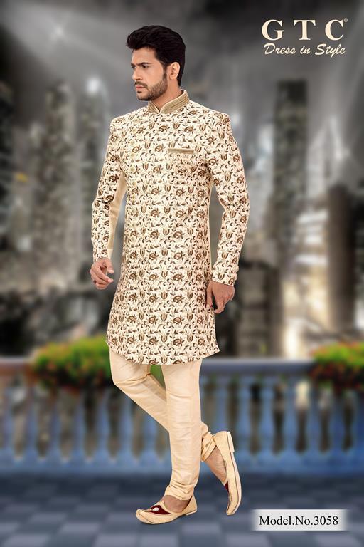 3058 Designer Sherwani