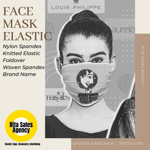 Covid 19 Face Mask Elastic Tape