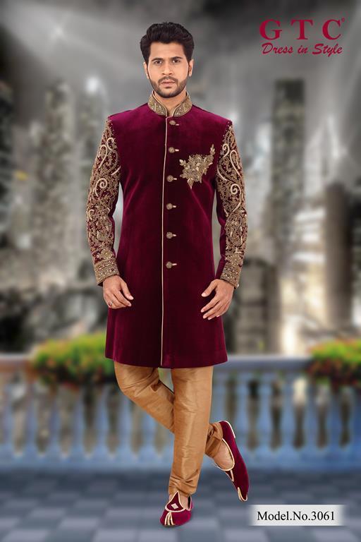 3061 Designer Sherwani