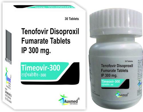 Tenofovir Disoproxil Fumarate Ip 300mg.timeovir-300