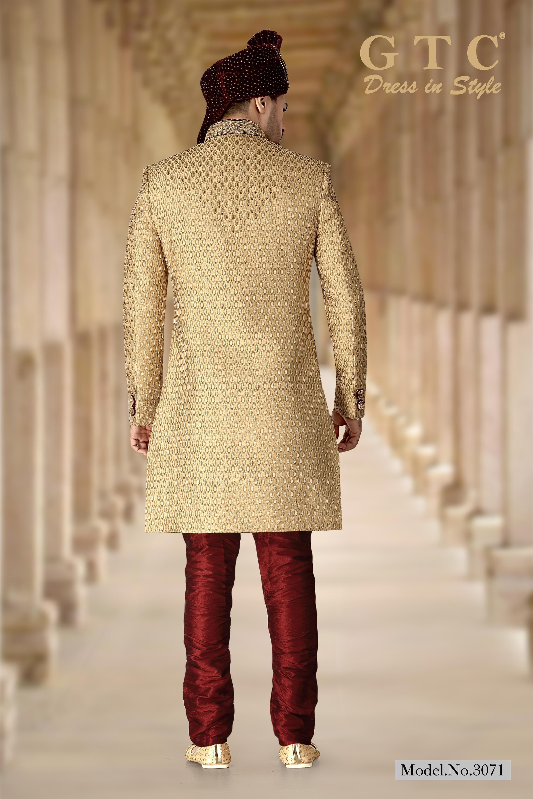 3071 Designer Sherwani