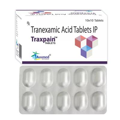 Tranexamic Acid Bp 500mg./traxpain