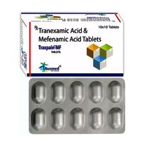 Tranaxamic Acid B.p 500mg + Mefenamic Acid Ip 250mg./traxpain-mf